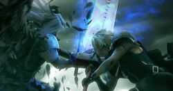 Sephiroth vs Cloud AC