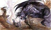 Krieger des Lichts Behemoth FFI Artwork