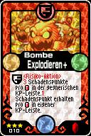 010 Bombe Explodieren+ Pop-Up
