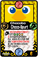 127 Chocobo Choco-Spurt Pop-Up