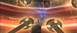 Larsa absorbiert Vaynes Angriff