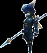 Kain Charakter-Modell NDS