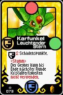 073 Karfunkel Leuchtender Stern Pop-Up