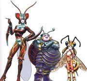 Magus-Trio FFX