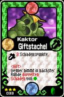 033 Kaktor Giftstachel Pop-Up