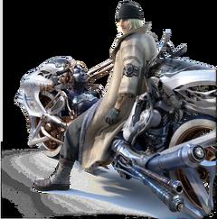 Shiva Motorrad Snow