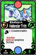 038 Einhorn Heilender Tritt Pop-Up