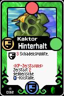 032 Kaktor Hinterhalt Pop-Up