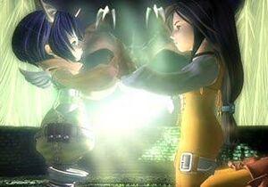 Garnet und Eiko beschwören Alexander