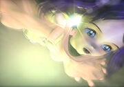 Eiko springt von Bord der Hildegard II