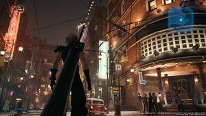 Sektor 8 Straße final Fantasy VII Remake