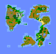 Oberflächenwelt FFIII NES