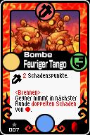007 Bombe Feuriger Tango Pop-Up