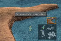 Choco-Karte Einsame Sandbank