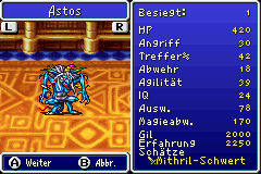 Astos MonsterFibel FFI GBA
