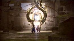 Portal FFXIII-2 Bresha-Ruinen