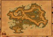 Kontinent des Nebels Karte
