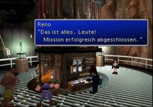 Reno sprengt die Säule