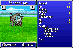 Schwebauge Monsterfibel FFIV GBA