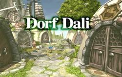 Dorf Dali Eingang