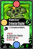 031 Kaktor Drehender Stachel Pop-Up