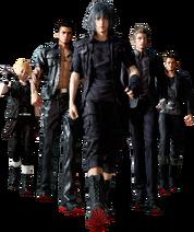 Final Fantasy XV Character design