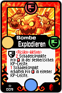 009 Bombe Explodieren Pop-Up