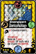 096 Eisengigant Überkopfschlag+ Pop-Up