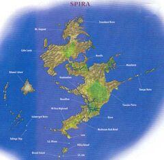 Spira Weltkarte FFX