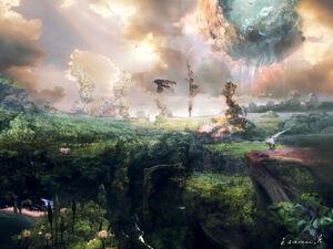 Pulse Landschaft FFXIII