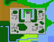 Saronia Weltkarte FFIII NES