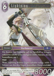 FFTCG Lightning 1-210S Deutsch