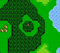 Chocobo Wald FFIII NES-1
