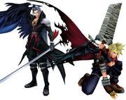 Cloud Sephiroth KH Kostüme