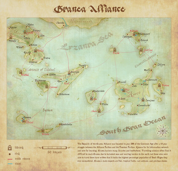 Map of Granea