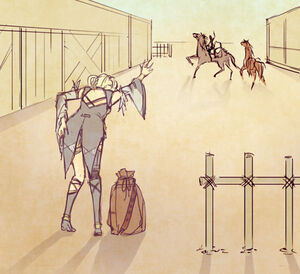 Chapter 1 with horses