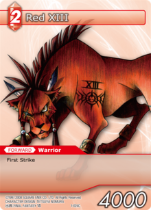 1-024c - Red XIII
