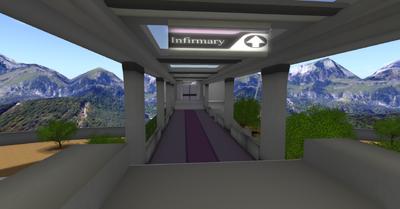 Infirmary Walkway