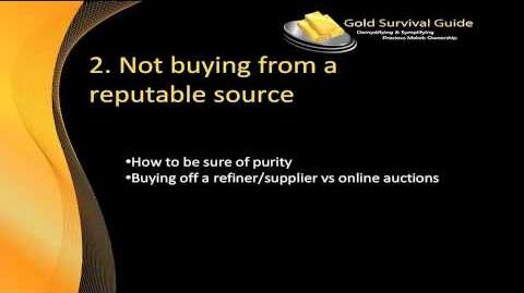 7 Deadliest Mistakes When Buying Gold and Silver - Video 2