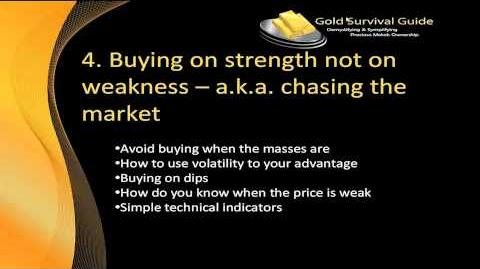 7 Deadliest Mistakes When Buying Gold and Silver - Video 4