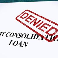 Debt-consolidation-loan-denied