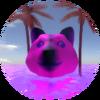 Vaporwave doge