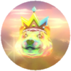 Neon King Doge