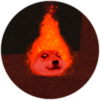 Fire Crystal Doge