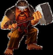 Stoneforge Battle Dwarf