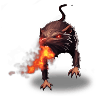 Sprite 02 burning