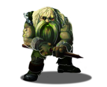 Diseased Dwarf
