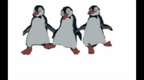 The penguin dance - chicken dance