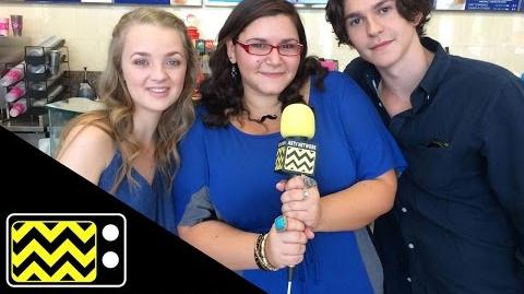 Finding Carter stars Anna Jacoby-Heron (Taylor) & Jesse Henderson (Gabe) AfterBuzz TV Interview