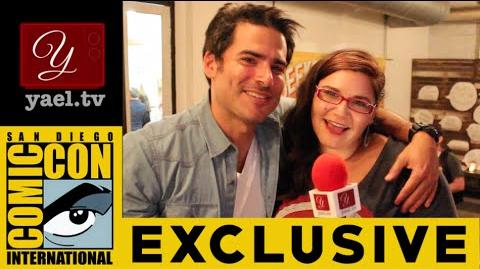 Finding Carter's Eddie Matos (Kyle) - Interview at Geeks For Peace - SDCC 2015 yael.tv